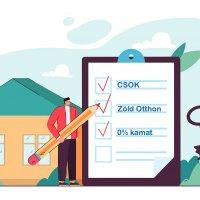 Kamatmentes lehet a CSOK hitel a Zöld otthon programmal párosítva
